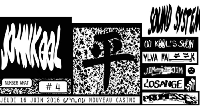Johnkôôl Sound System #4, Losange release party