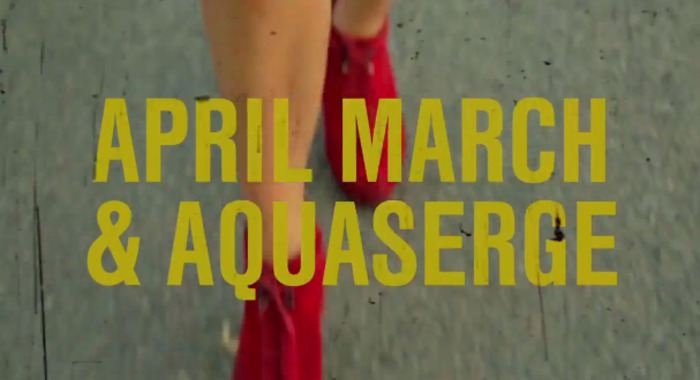 April March & Aquaserge: Des Tics et des tocs