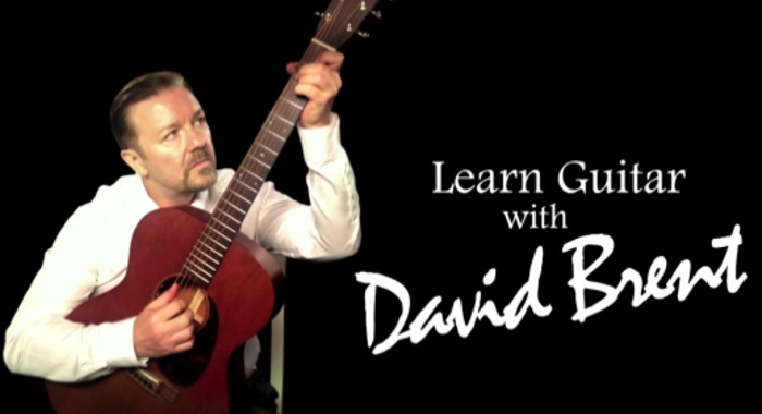 David Brent teaches you guitar