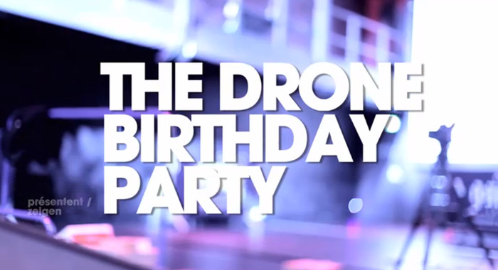 The Drone Bithday Party en stream sur arte