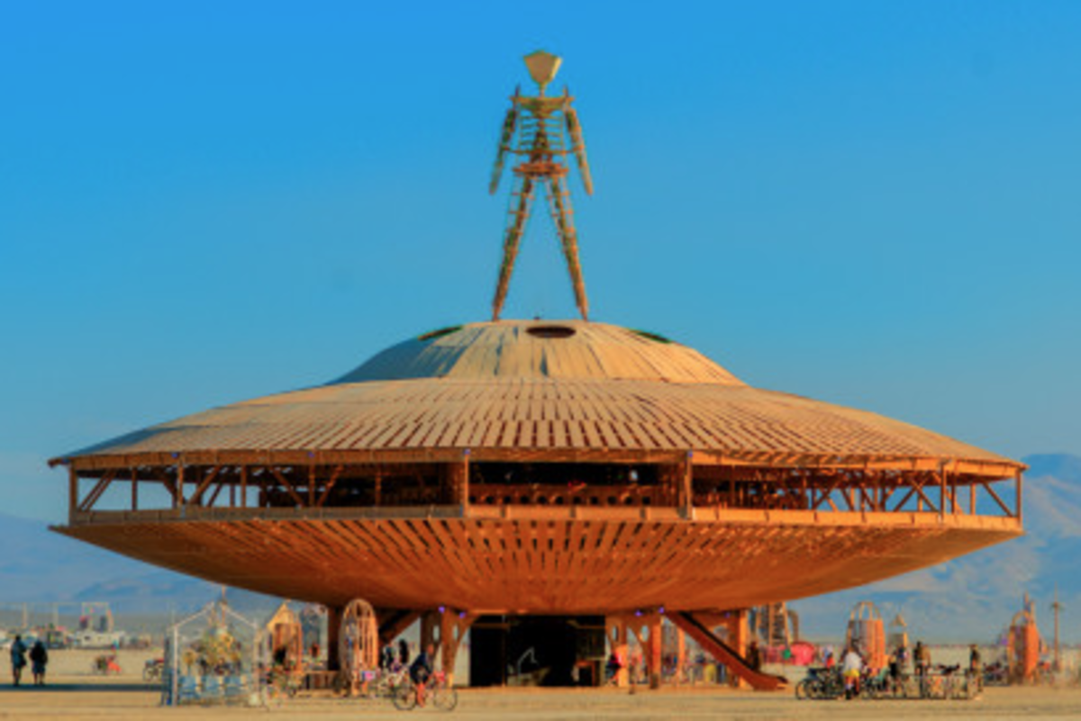 Burning man 2013 for Domon man 2013