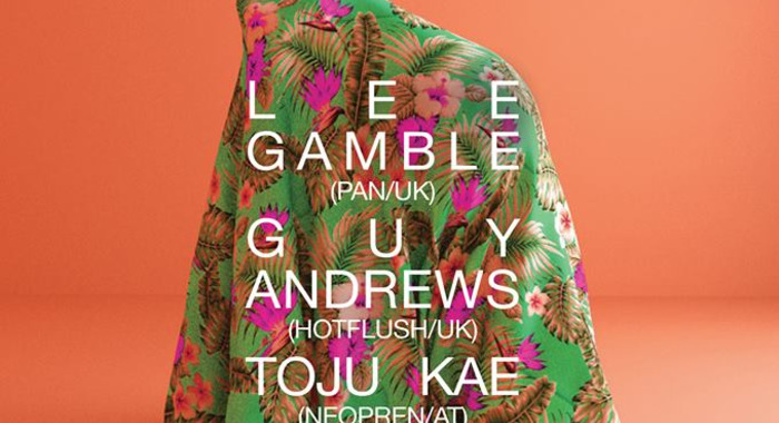 Lee Gamble, Guy Andrews et Toju Kae Live! à la Java