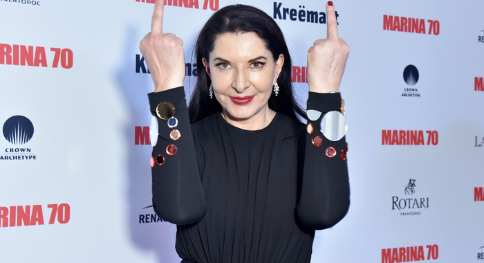Marina Abramovic ou la pop culture comme paillasson