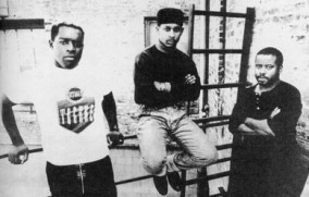 Kevin saunderson, Derrick may and Juan atkins young